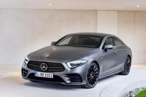 EVA коврики на Mercedes-Benz CLS III (C257) 2017- наст. время