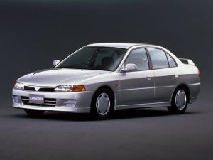 EVA коврики на Mitsubishi Lancer VII  (правый руль) 1995-2000