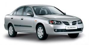 EVA коврики на Nissan Almera (N16) 2000 - 2006 (седан)