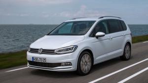 EVA коврики на Volkswagen Touran 5 мест 2015 - 2020