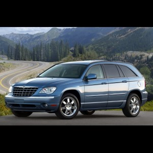 Chrysler Pacifica (CS) 2003 – 2008 (6 мест 4WD) 3 ряда