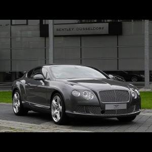 Bentley Continental GT II 2011-2017 (купе)