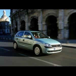 Opel Corsa C 2000 - 2006. Купе, седан